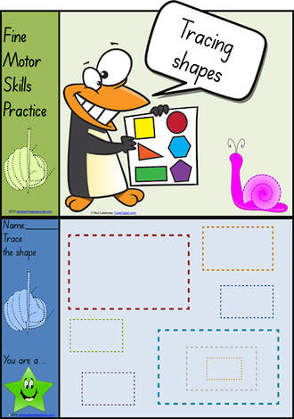 Foundation  Handwriting | Practice | Shape | Colour Charts | SA Print