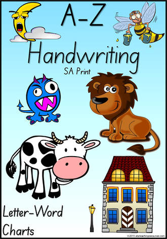 Foundation Handwriting | Management | Letter – Word | Display | SA Print