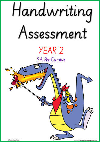 Year 2  Handwriting | Visible Learning | Assessment | SA PreCursive