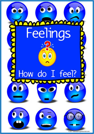 How do I feel? | Feeling and Action | Charts & Flashcards