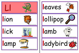 Letter Words Beginning With Li