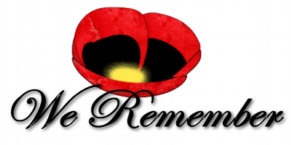 ANZAC remembrance poppy