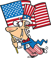 4th of July - Uncle Sam