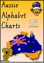 Aussie Alphabet  | Handwriting | Display Charts | VIC Modern Cursive