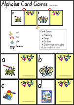 Alphabet | Lowercase Letters| Card Games 3