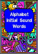 Alphabet | Beginning Sound | Word Cards