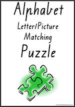 Alphabet | Letter-Picture Matching | Puzzle