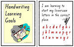 Handwriting | Learning Goals | Charts | TAS Print