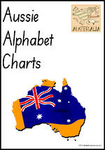Aussie Alphabet | Handwriting | Display Charts | SA Print