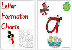 Handwriting | Letter Formation | Charts | SA Print
