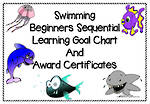 Swimming | Beginners | Sequential Goals | Charts