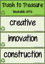 Wearable Arts | Vocabulary | Flashcards