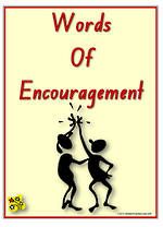 Words of Encouragement | Flashcards 1