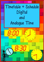 Timetable Times | Digital I Analogue | Cards