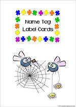Puzzle | Name Tag | Label | Border | Cards