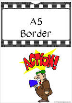 Film | A5 | Border | Cards