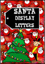 Instant Display | Uppercase | Santa  Letters