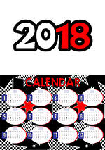 2018 | Calendar | Star | Classroom Management & Display