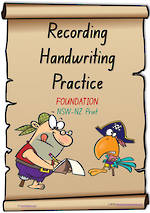 Foundation Handwriting | Visible Learning | Recording Practice | Colour Sheets | NSW-NZ Print