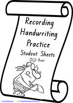 Foundation Handwriting | Visible Learning | Recording Practice  | QLD  Print