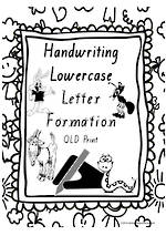 Year 1 Handwriting | Letter Formation | Lowercase | Charts | QLD Print