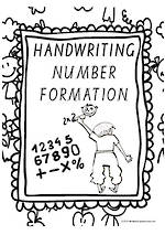 Year 1 Handwriting | Letter Formation | Number | Charts | VIC Print