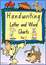Year 1 Handwriting | Letter Formation | Letter - Word | NSW-NZ Print