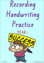 Year 1 Handwriting | Visible Learning | Recording | Colour Sheets | VIC Print