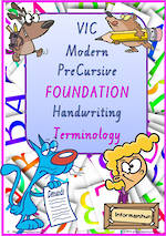 Foundation Handwriting | Terminology | BUNDLE | VIC Modern PreCursive