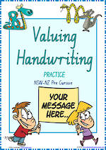 Year 2  Handwriting | Practice | Valuing Handwriting | NSW-NZ PreCursive