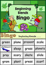 Beginning Blend | Bingo Game 2