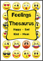 Feelings - Emotions Thesaurus | Cards 1