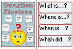 Present-Question Starters Chart and Flashcards