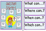 Possibility-Question Starters Chart and Flashcards