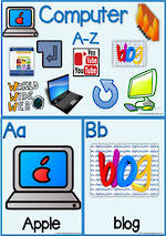A-Z | Computer |  Vocabulary | Charts