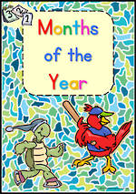 Months of the Year | Zaner Bloser Style | Charts