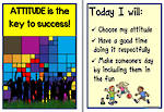 Attitude | Key to Success | Charts