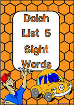 Sight Words |  Dolch Grade 3 | List 5 | NSW – NZ Print Flashcards