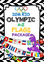 2016 Rio | Olympic  Games | A-Z | Colour Word Cards | PACKAGE