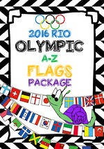 2016 Rio Olympic  Games |Competing Countries| A-Z | Word Cards | PACKAGE