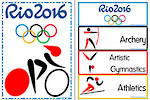 Rio 2016 | Summer Olympic Games | Sports | Word Cards