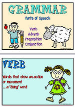 Parts of Speech Charts