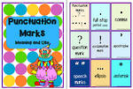 Punctuation Cards and Tiles