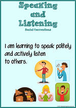 Speaking and Listening | Charts