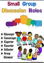 Small Group | Discussion Roles | Charts