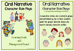Oral Narrative - Character Role Play Charts 1