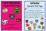 Oral Narrative - Character Role Play Charts 2