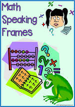 Mathematical | Speaking Frames | Flashcards