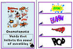 Language Feature | Onomatopoeia | Chart and Flashcards