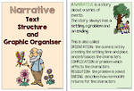 Narrative Text | Structure and Graphic Organiser | Charts